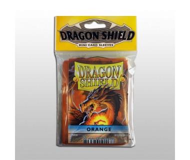 Малки протектори Dragon Shield (50) оранжеви