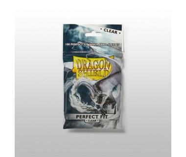 Стандартни протектори Dragon Shield (100) Perfect-Fit прозрачни