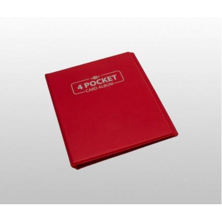 Мини папка с листа Blackfire - А5 червена