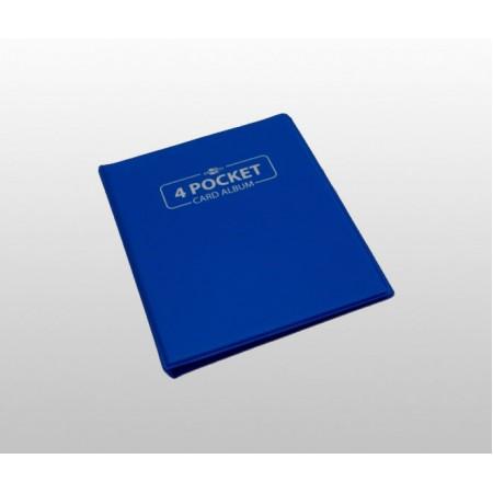 Мини папка с листа Blackfire А5 - синя