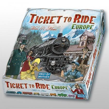 Ticket to Ride - Европа