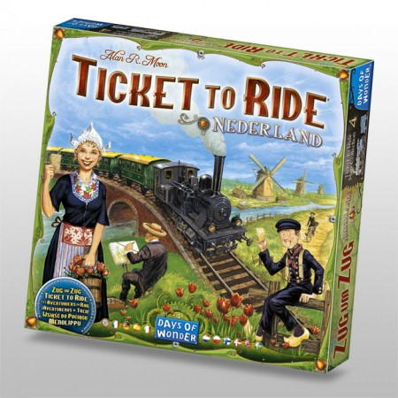 Ticket to Ride Netherlands