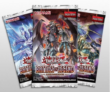 YuGiOh Battles of Legend - Armageddon Booster