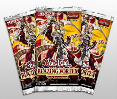 YuGiOh Blazing Vortex Booster