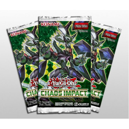 YuGiOh Chaos Impact Booster