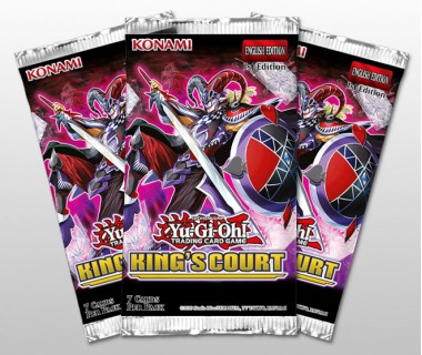 YuGiOh Kings Court Booster