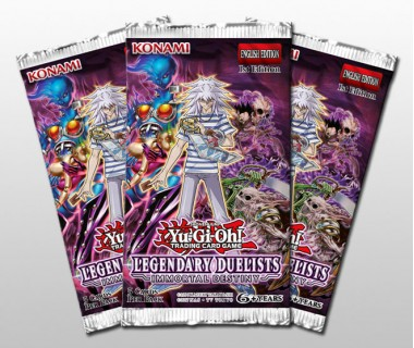 YuGiOh Legendary Duelists Immortal Destiny Pack