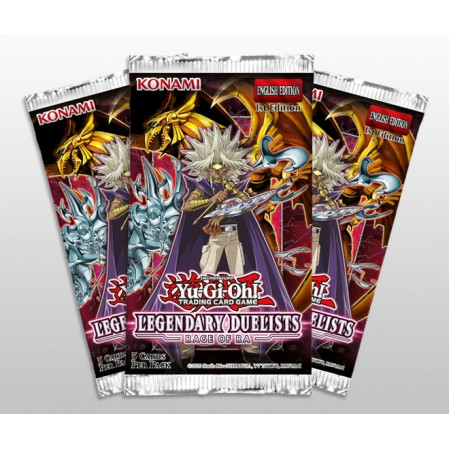 YuGiOh Legendary Duelists - Rage of Ra Pack