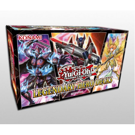 YuGiOh Legendary Hero Decks