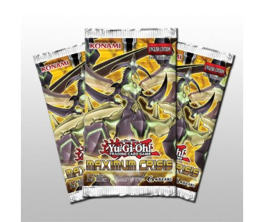 YGO Maximum Crisis Booster
