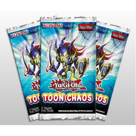 YuGiOh Toon Chaos Booster