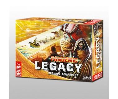 Pandemic Legacy Season 2 - Yellow box